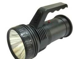Ліхтарик LED Profi пласт. з ручкою 3 реж. АКБ в комп. з. ..