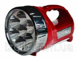 Фонарь ручной 2-х зонный аккумуляторный 11 диодов