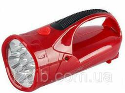 Фонарь ручной 2-х зонный аккумуляторный 25 диодов