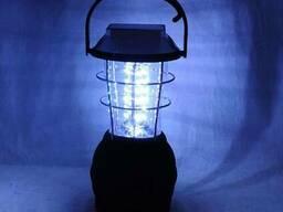 Фонарь туристический светодиодный 36 LED на солнечной батаре