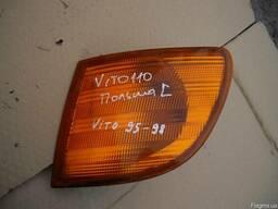 Фонарь указателя поворота левый Mercedes Vito W638 (1996г-20