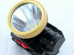 Фонарик налобный фонарь 0509-2 COB 300Lm