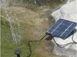 Фонтан - насос на солнечной батарее 0,5м 150л/ч