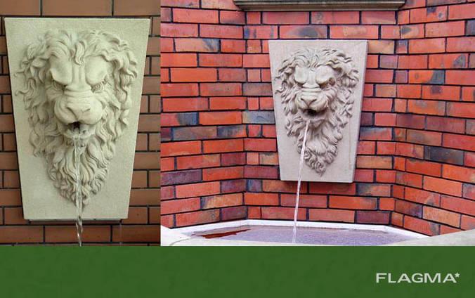 Голова льва из бетона купить купить куб бетона волгоград