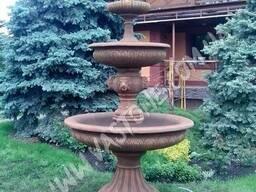 Фонтан садовый бетонный, декоративный уличный на дачу, в сад