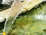 Фонтанная латунная насадка в форме веер или хвост павлина - фото 4