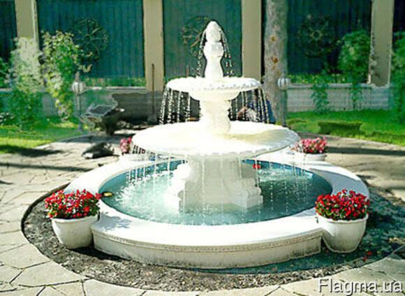 Фонтаны,садово-парковые фигуры