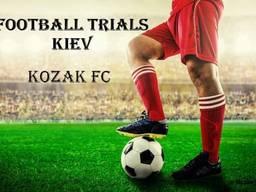 Football invitation / Football Trials
