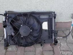 Ford C max mk2 Вентилятор охлаждения двигателя диффузор