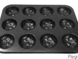 Форма для кекса тефлон (12шт)
