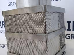 Форма для сыра из нержавеющей стали, квадратная 3-4 кг/ Форми для сиру із нержавіючої ст.