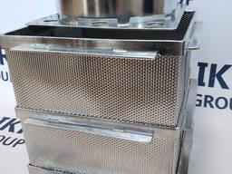 Форма для сыра из нержавеющей стали, квадратная 6-8 кг/ Форма для сиру із нержавіючої ст