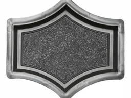 Форма для тротуарной плитки РОНДО крест маленький 165×145×45 Украина 1 шт