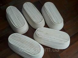 Форма корзинка для расстойки хлеба, из ротанга на 0, 5 кг овальная. ..