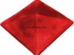 Форма крышки колпак четырехскатный гладкий 1 - фото 2