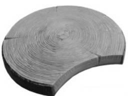 Форма Пенек тротуарная плитка