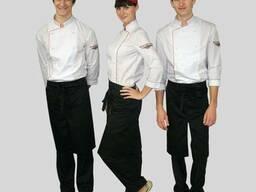 Форма поваров, костюмы для поваров, пошив под заказ от 10 ед