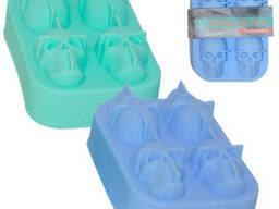Форма силиконовая для льда 11, 5х8, 2х4, 2 см Скиллетс Snt 3200-41