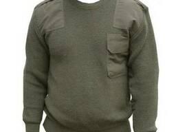 Форменный свитер оливкового цвета, форменный джемпер