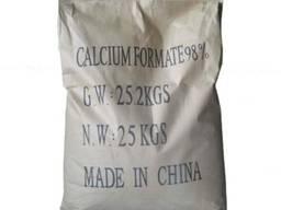 Формиат кальция (кальций муравьинокислый) - мешок 25кг