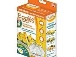 Формы для варки яиц без скорлупы Eggies Новинка
