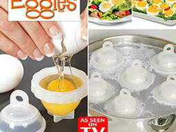 Формы для варки яиц без скорлупы - Eggies Новинка