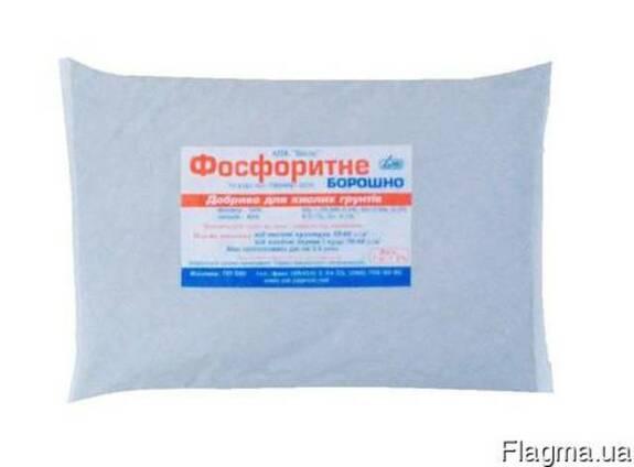 """Фосфоритная мука """"ОВИ"""" 1кг P-24%,Са-40%"""