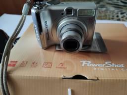Фотоаппарат Canon PowerShot A550 Зарядное Чехол Карта