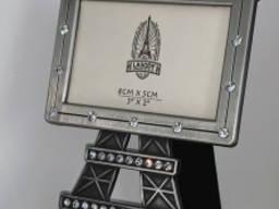 Фоторамка Эйфелевая башня - метал