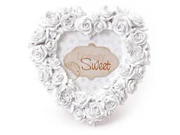 Фоторамка Сердечко розы