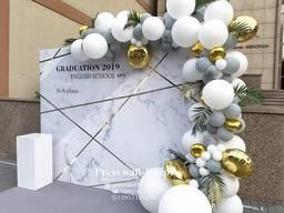 Фотозона на выпускной, выпускной вечер, шары