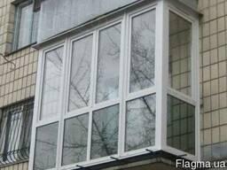 Французский балкон. Остекление балкона от пола.