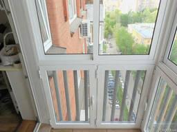Французское, панорамное остекление балкона цена