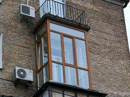 Французское, панорамное остекление балкона цена, рассрочка - фото 5