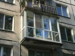Французское, панорамное остекление балкона цена, рассрочка - фото 6