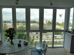 Французское, панорамное остекление балкона цена, рассрочка - фото 7