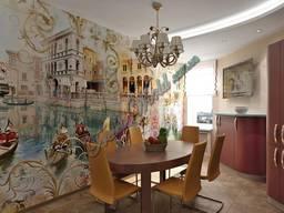 Фреска на стену микеланджело