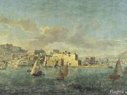 Фреска Veduta Napoli