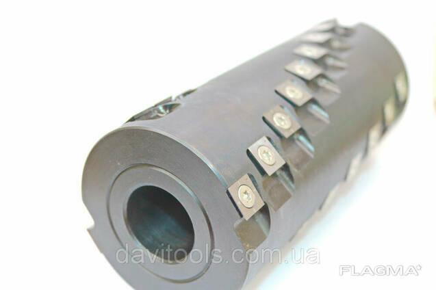 Фреза цилиндрическая сталь D70 d32 В38 Z4 с винтовым. ..