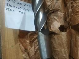 Фреза концевая Ф 50 мм удлиненная z=3 Р6М5 , КМ 5 , 330х170мм