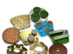 Фрезы алмазные для шлифовки бетона