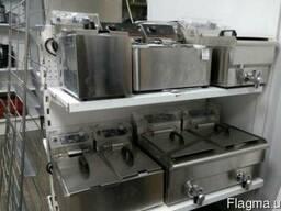 Фритюрница Liloma на 2х8/10 литров с краном для слива масла!