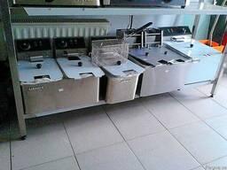 Фритюрницы чебуречницы газовые плиты и прочее для фаст-фуда