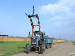 Фронтальний навантажувач НТ-4М на трактори МТЗ, ЮМЗ