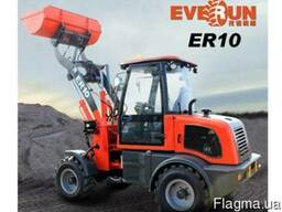 Фронтальный мини-погрузчик Everun ER10 Wiellader