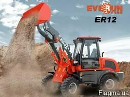 Фронтальный мини-погрузчик Everun ER12 Wiellader
