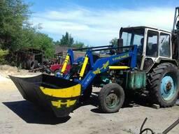 Фронтальный погрузчик КУН для трактора МТЗ ЮМЗ Т-40 Т-25
