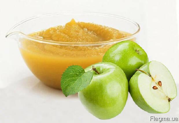 Фруктово-ягодное пюре (Яблучное, вишневое, клубничное)