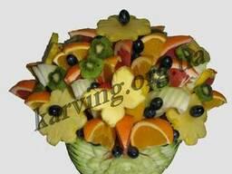 Фруктовый букет, Букет из фруктов и овощей, Съедобные букеты