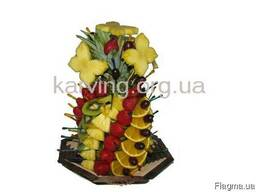 Фруктовый букет, Букет из фруктов и овощей, Съедобные букеты - фото 4